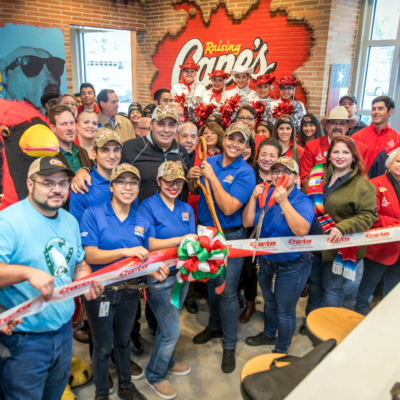 Raising Cane's is now open at 2120 S. 77 Sunshine Strip in Harlingen.