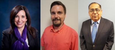 Priscilla Canales, Travis McDaniel and Daniel Montez join the Weslaco Chamber board of directors.