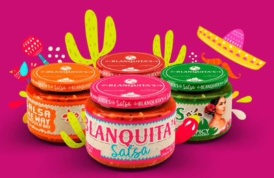The Blanquita's Salsa product line consists of four flavors, from mild to spicy. (Courtesy)