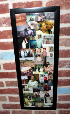 Photographs of members of Garcia's large extended family are on display in the restaurant. (VBR)