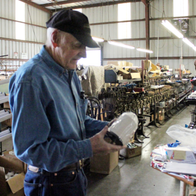 Texas Thread owner Kavanaugh Francis operates a manufacturing business that is unique in the Rio Grande Valley. (VBR)