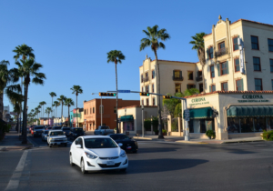 A registered historic landmark, the Villa de Cortez is a centerpiece of the redevelopment of downtown Weslaco. (Courtesy)