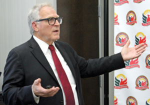 Keith Patridge, president and chief executive officer of the McAllen Economic Development Corporation, discusses international trade and the possible impact of a new trade agreement. (VBR)