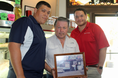 Dirty Al's restaurant business is owned and operated by the Salazar family, left to right, Cameron, Al and Ethan. (VBR)