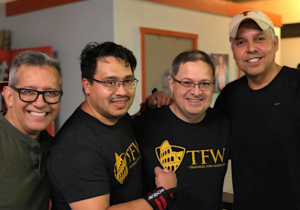 Training For Warriors promotes group solidarity and camaraderie in its workouts.