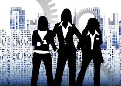 women mentoring