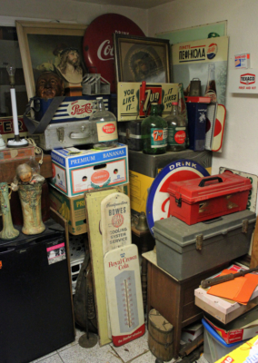Collectibles from the personal collection of Ruben Balboa, owner of Balboa Auction Company (VBR)