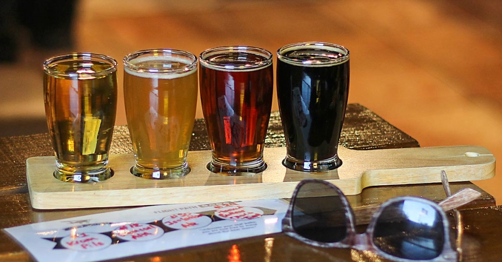 Grain to Glass is the only craft beer venue south of San Antonio offering beer flights. (Courtesy)