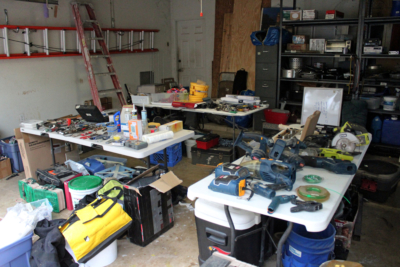 Tools are always popular items for sale at estate sales. (VBR)