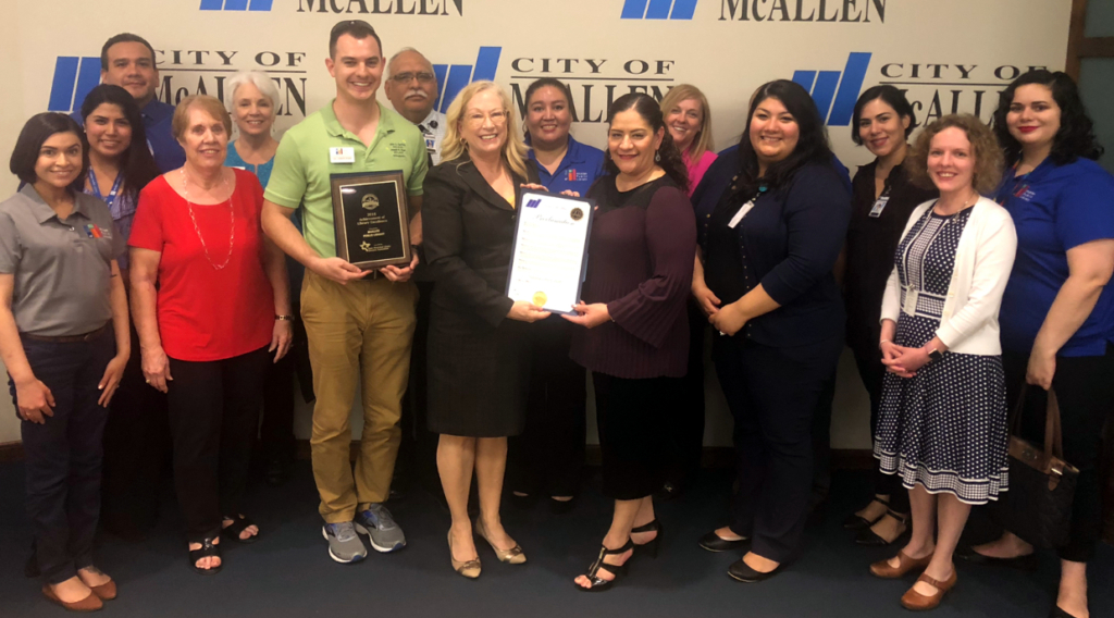 McAllen Public Library awards