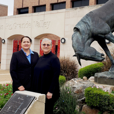 UTRGV Executive Education program instructors Zoila Zambrano and Elaine Hernandez (Courtesy)