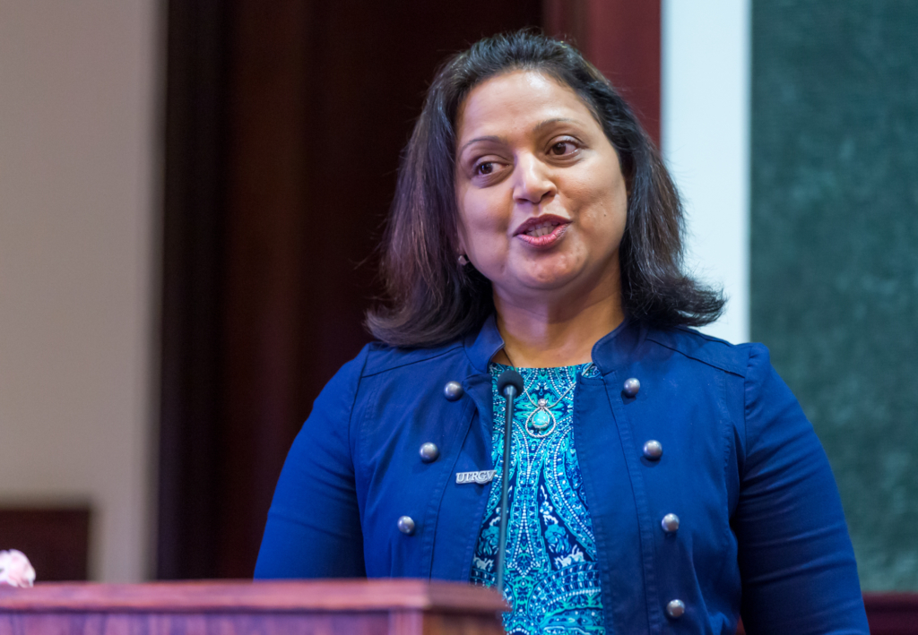 Jayshree Bhat coordinates the Executive Education programs for UTRGV's new Office of Professional Education and Workforce Development. (Courtesy)