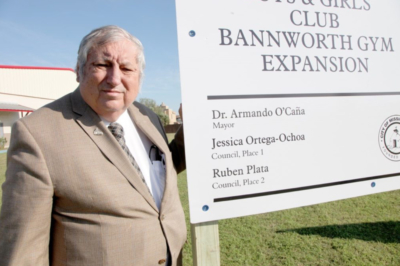 Mission Mayor Armando O'Caña was instrumental in pushing forward a plan to create at new Boys & Girls Club in the city. (Courtesy)