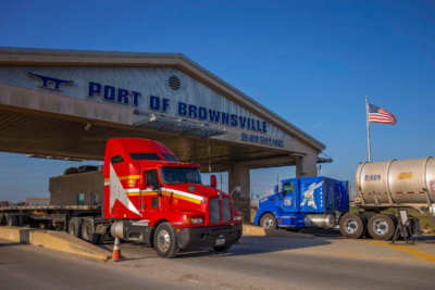 The South Port Connector Road Project will improve traffic accessibility to the Port of Brownsville.