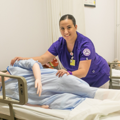 South Texas College is one of the local recipients of TWC's recent JET grants for training registered nurses. (photo STC)