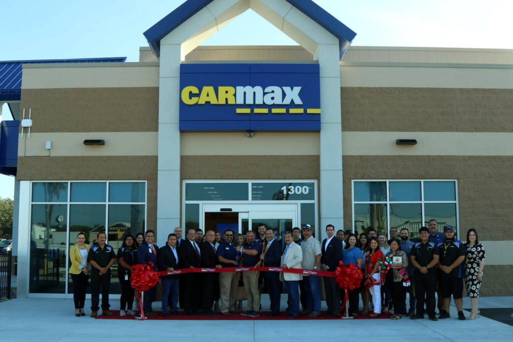 CarMax Pharr ribbon cutting