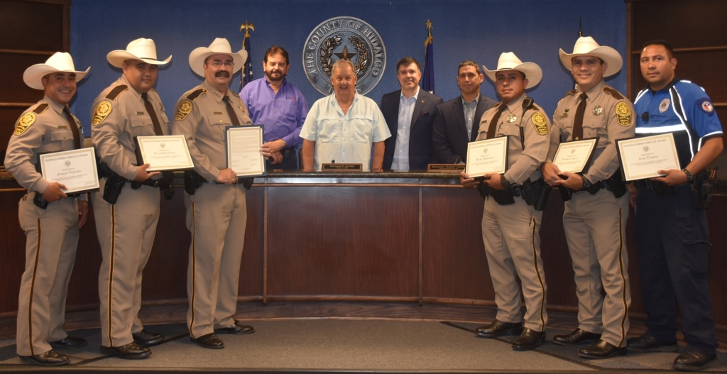 Hidalgo deputies honored
