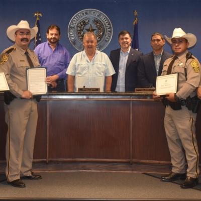 Hidalgo deputies honored