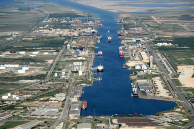 Port of Brownsville ship channel