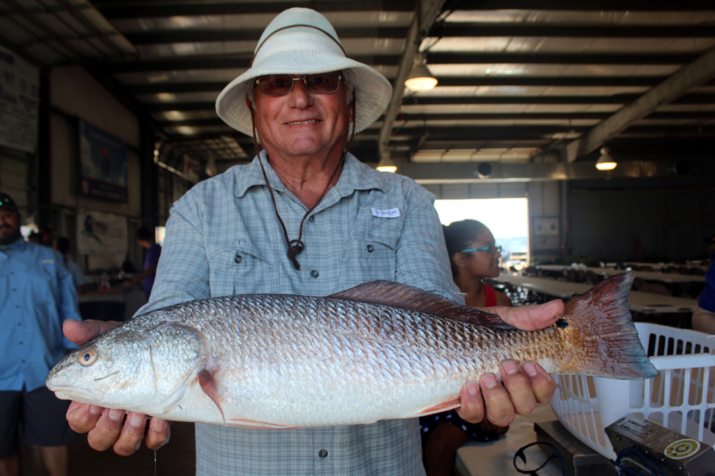 Red fish viewing is part of the weekend tournament.