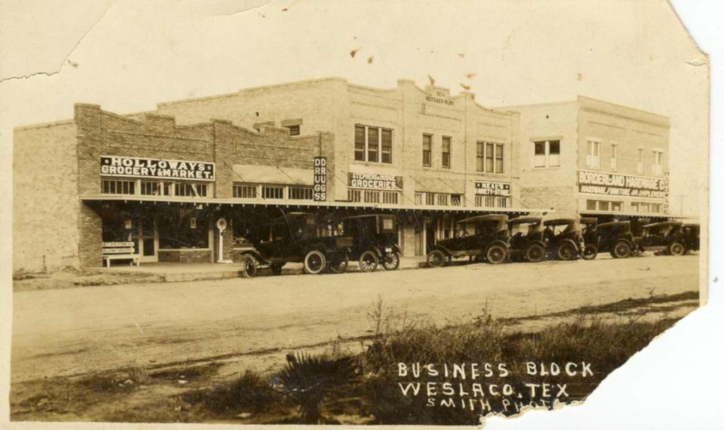 Early downtown Weslaco