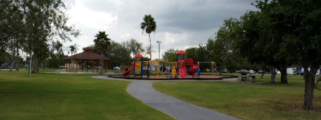 The existing park in San Benito, Landrum Park, is the starting point for the city to improve their park system. (Courtesy)