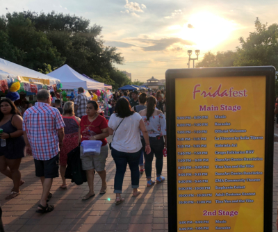 More than 6,000 people attend FridaFest, one of 13 major Edinburg Cultural Arts events. (photo Selene D. Garza)