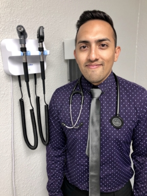 Michael Menchaca, family nurse practitioner, owns and runs Menchaca Family Clinic.