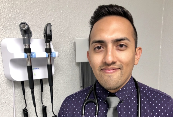 Michael Menchaca, family nurse practitioner, runs Menchaca Family Clinic with a basis of membership and not insurance.