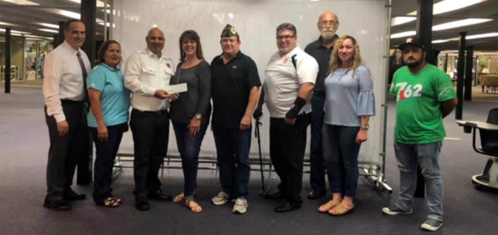 AMVETS completed their second Macaroni Grill fundraiser this past May. The money they raise with the Macaroni Grill fundraiser stays in the Valley. (Courtesy Dorance Cuba)