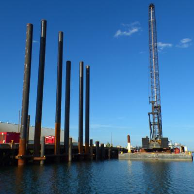 Port of Brownsville bulk cargo dock