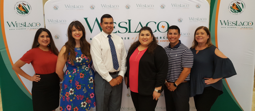 The Leadership Mid Valley steering committee will host a recruitment mixer Aug. 13 at the Business Visitor & Event Center in Weslaco. Members are Monica Resendez, Lone Star National Bank; Raquel Limas, Con Cariño PHC; Robert Palomares, committee chair, Lone Star National Bank; Barbara Garza, president/CEO, Weslaco Area Chamber of Commerce; Omar Rodriguez, Rio Bank; and Hollie Johnston, Valley Nature Center.