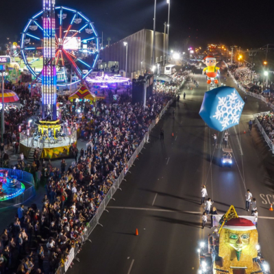 The McAllen Holiday Parade is one of many local festivals and events Texas Festival & Events Association Annual Conference attendees can learn from. (photo McAllen Holiday Parade)