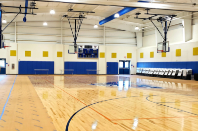 This is the first time Jubilee-Harlingen has a full-size gymnasium between the two campuses.