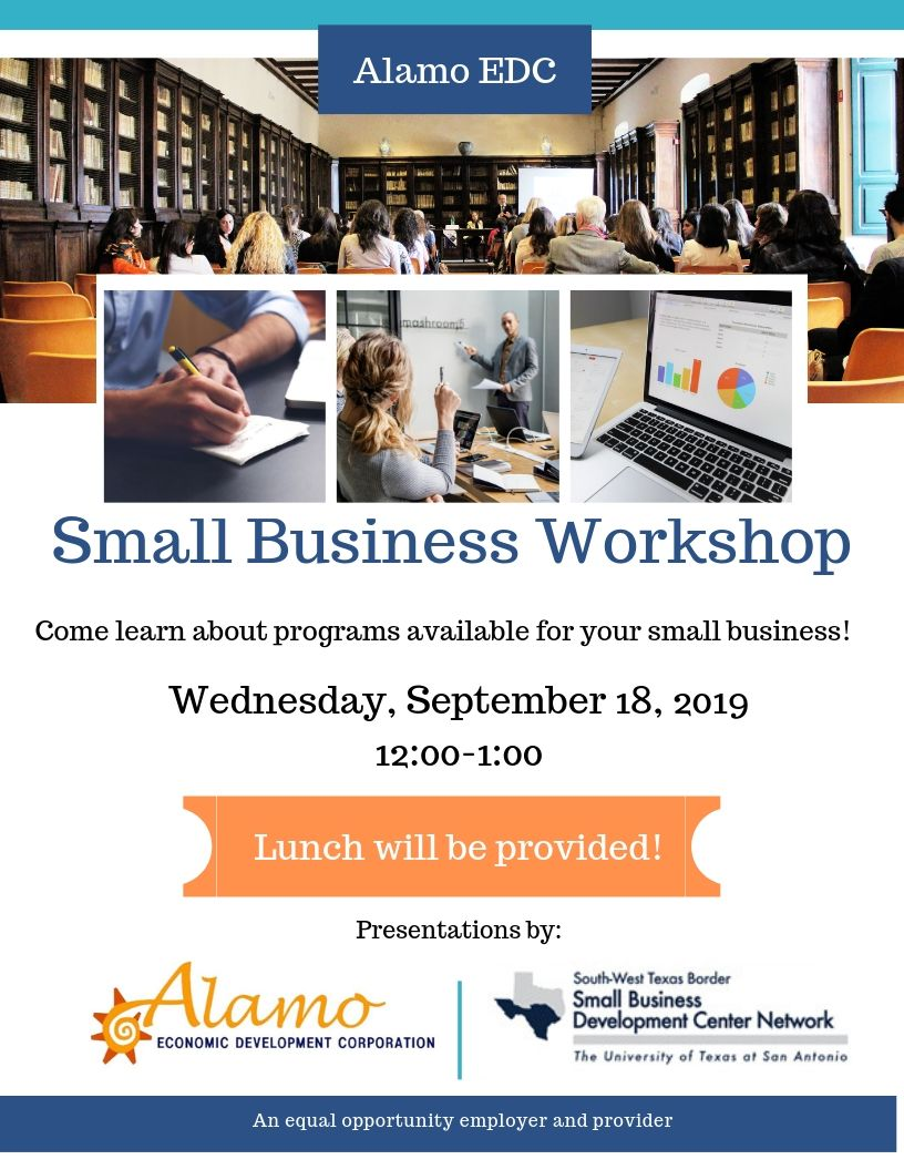 Alamo Small Business Workshop - Valley Business Report