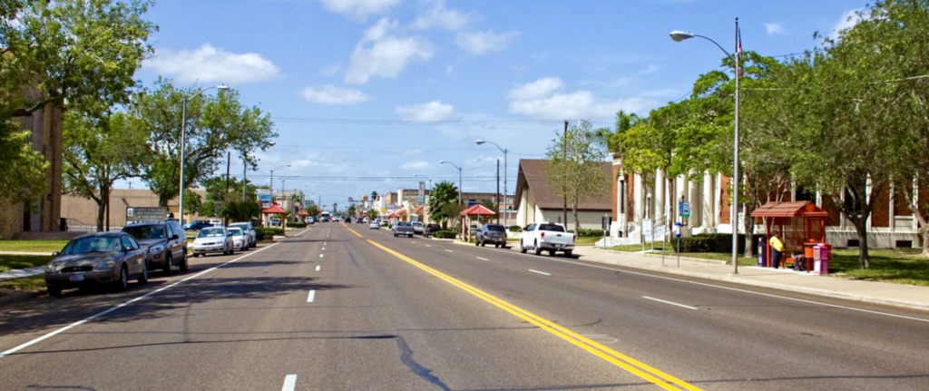 Downtown San Benito (photo SB Economic Development Corp).