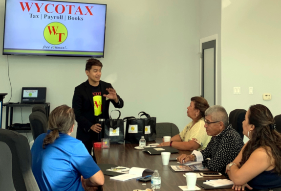 Christopher Wycoco conducts free one-hour seminars as part of his Business Made Easier series.