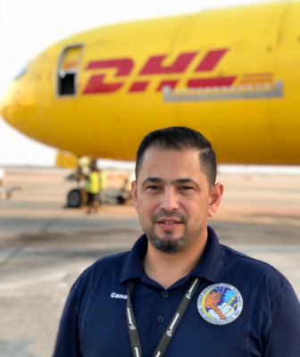 Orlando Cano, general manager of TIA Aeronautics