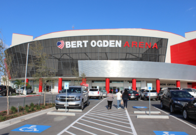Bert Ogden Arena is home to the RGV Vipers basketball team in addition to hosting numerous entertainment and celebrity events.(VBR)