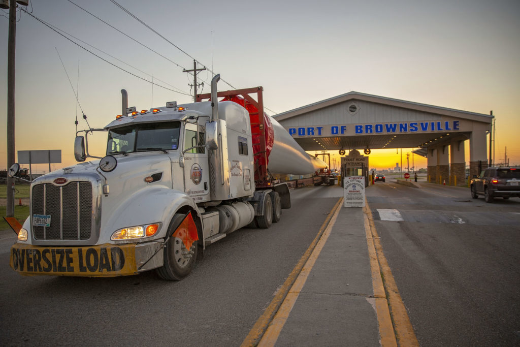 On a daily basis the Port of Brownsville welcomes 800 to 1,000 truck drivers. (photo Port of Brownsville)