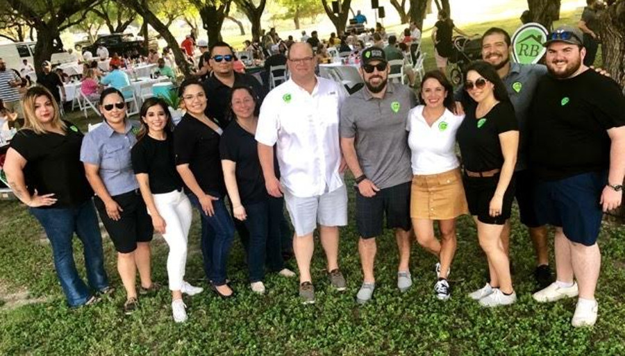 The Ryan & Brian Team at their Summer Fiesta customer appreciation event.