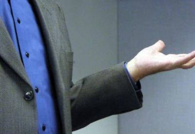 Evaluate your body language in addressing workplace conflict. (photo Linnaea Mallette, publicdomainpictures.net)