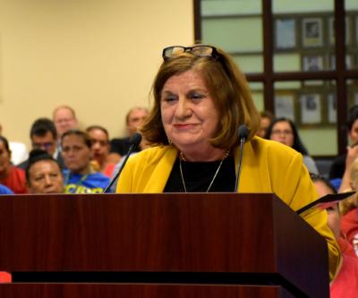 Hidalgo County Head Start Executive Director Teresa Flores