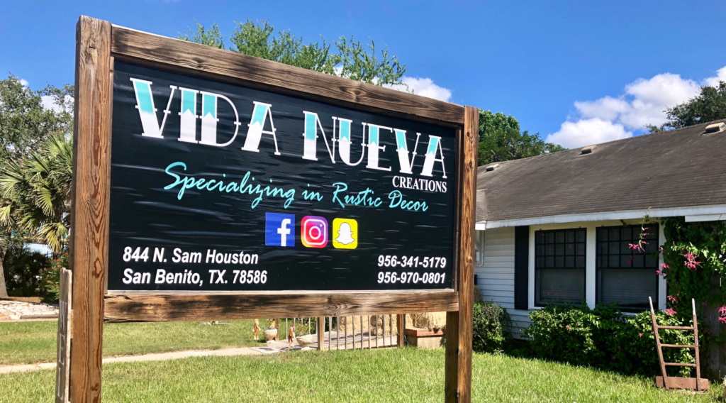 Vida Nueva Creations is one San Benito new business receiving a rent subsidy from the EDC to help with initial start-up costs.
