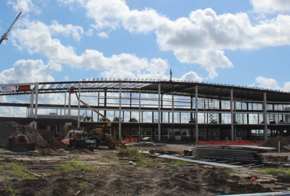A look at how the new Brownsville South Padre Island International Airport terminal is shaping up.