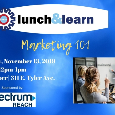 Lunch and Learn marketing 101