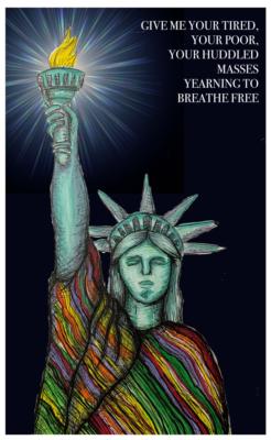 """""""Liberty Lighting the World"""" by Robert Ruiz"""