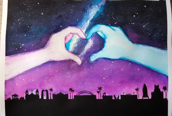"""""""Un Mismo Corazon"""" by Marisa Latigo"""