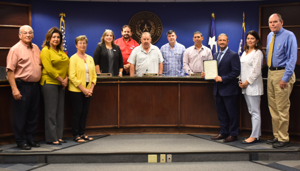 The Commissioners Court proclaims November as National Home Care and Hospice Month.