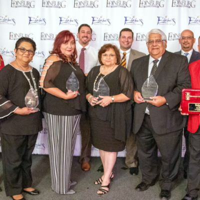 The Edinburg Chamber of Commerce recently held its 87th annual Installation Banquet, recognizing community leaders with various awards.